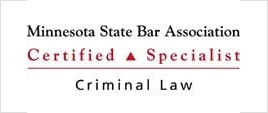 Minnesota State Bar Association Certified Specialist Criminal law