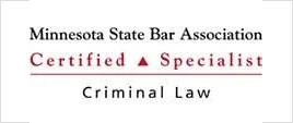 Minnesota State Bar Association Certified Specialist Criminal law
